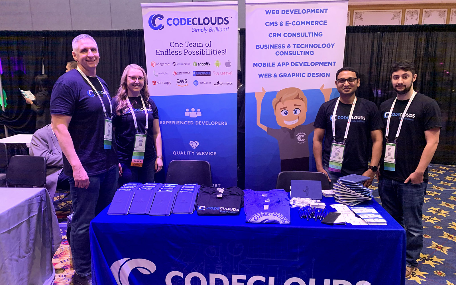 CodeClouds USA Team Shopify Meet Up
