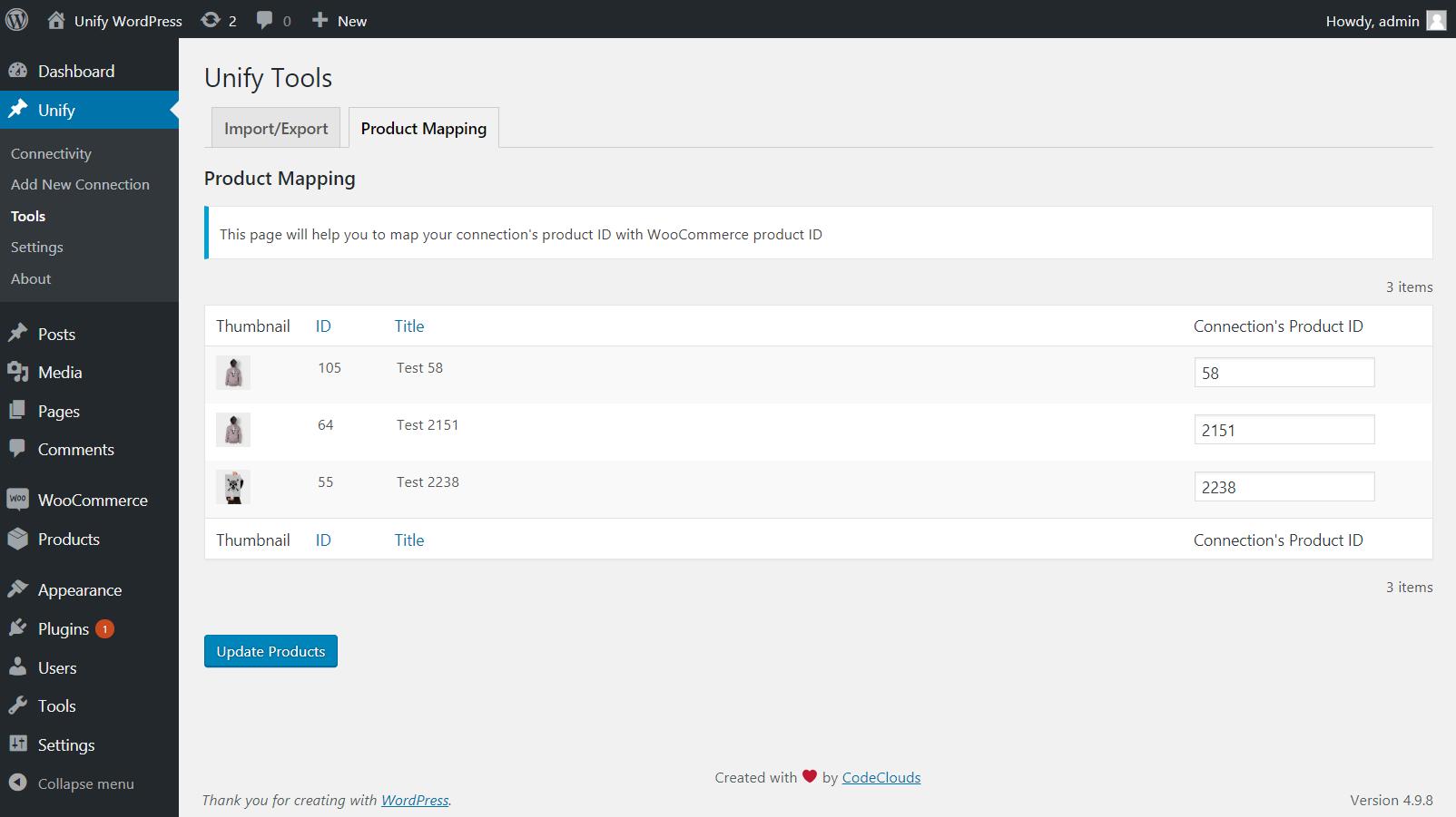 Unify plugin configuration step 2