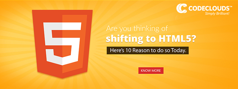 reasons to switch to html5