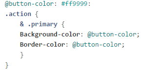 Magento 2 LESS changing the button color