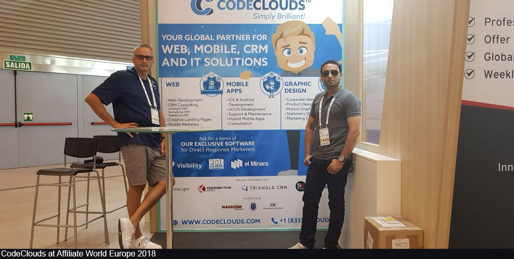 CodeClouds at Affiliate World Europe 2018