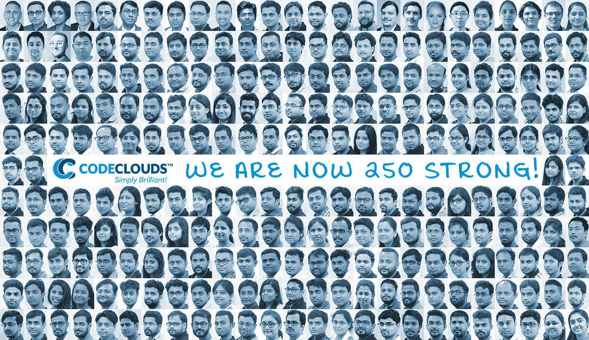 CodeClouds 250 Members