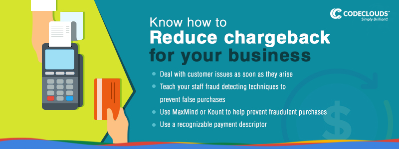 Reduce Chargeback