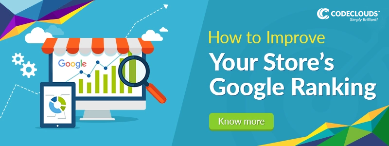improve your stores google ranking