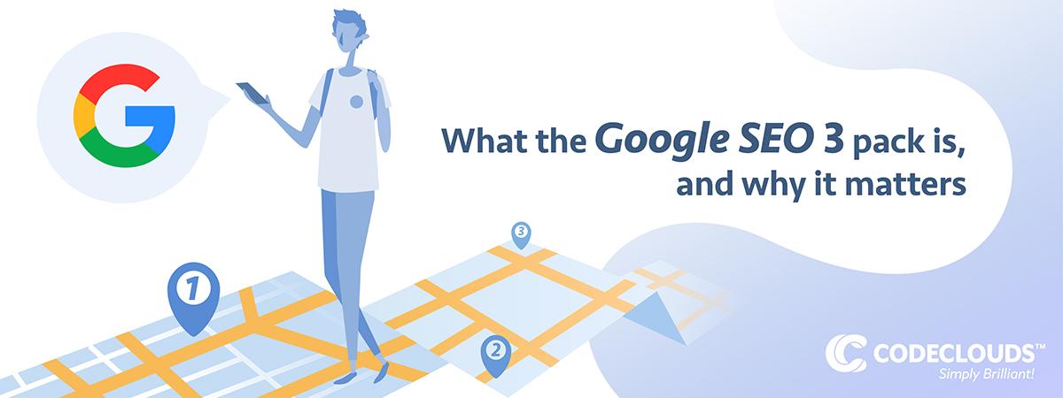 Google SEO 3 pack
