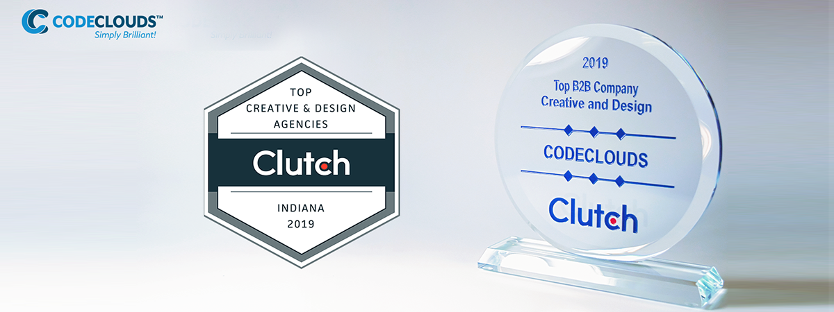 Clutch.co Names CodeClouds Top B2B Creative Design Agency in Indiana