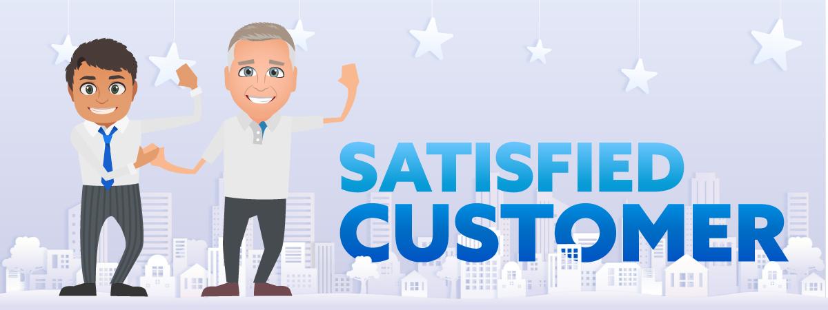Satisfied Customers