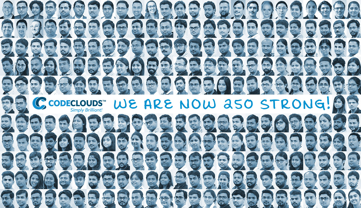 CodeClouds 250 Members