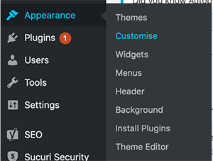 How To Create A Menu In WordPress 1