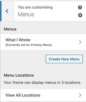 How To Create A Menu In WordPress 3
