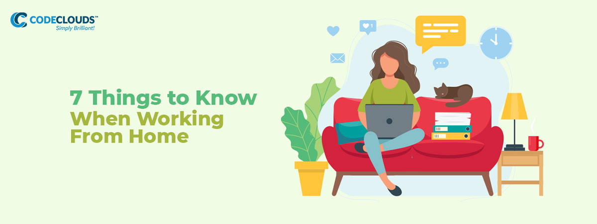 7 Things to Know When Working From Home