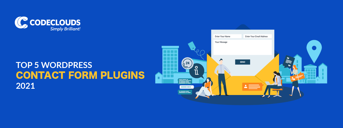The Top 5 WordPress Contact Form Plugins (2021)